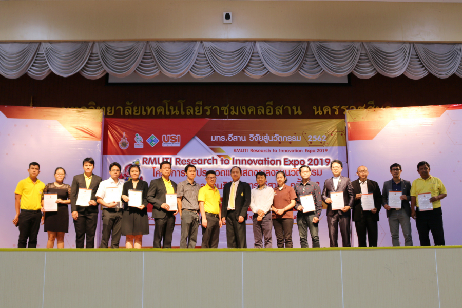 """RMUTI Research to Innovation Expo 2019"""